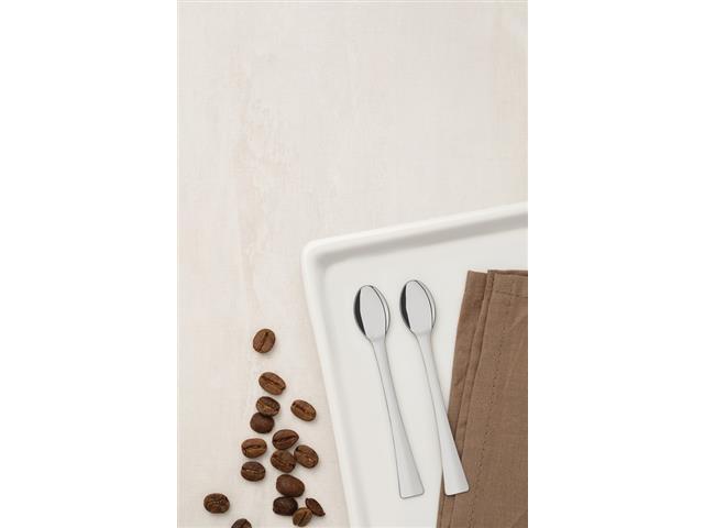 Conjunto de Colheres para Café/Expresso Tramontina em Aço Inox 6 Peças - 2