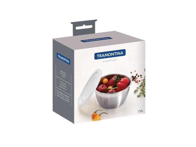 Pote para Temperos Tramontina Freezinox com Tampa Plástica 300ML - 3