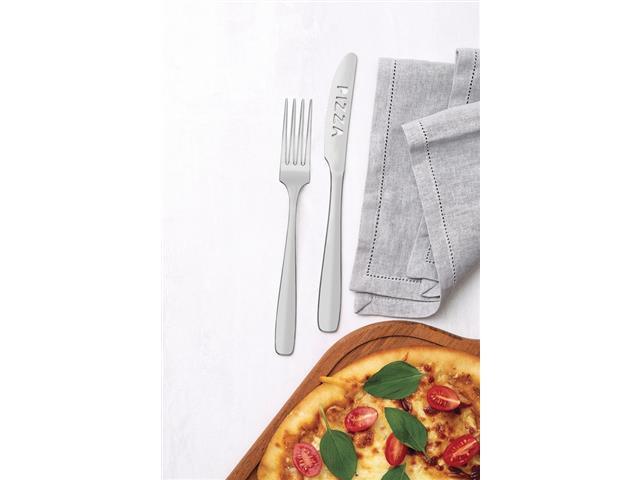 Jogo para Pizza Tramontina Amazonas em Aço Inox 2 Peças - 1