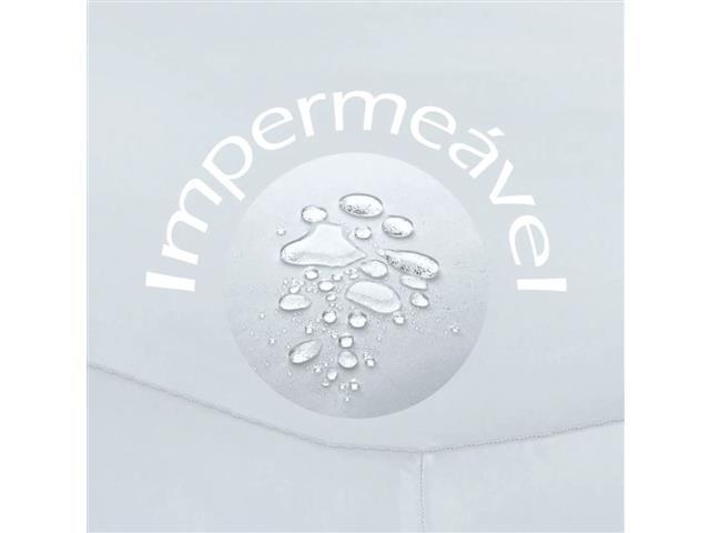 Protetor de Colchão Buettner Fix Impermeável Branco Solteiro - 1