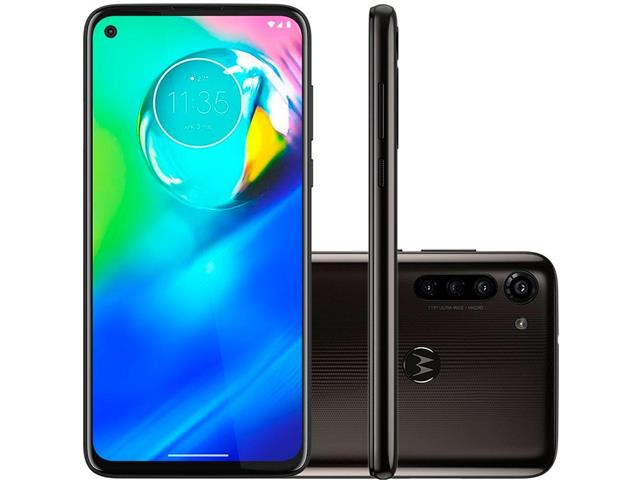 "Smartphone Motorola Moto G8 Power 64GB Duo 6.4""4G Câm 16+8+8+2MP Preto"