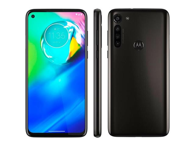 "Smartphone Motorola Moto G8 Power 64GB Duo 6.4""4G Câm 16+8+8+2MP Preto - 3"