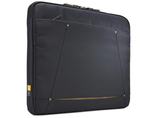 "Sleeve Case para Laptop Logic DecoLap Top DECOS116 Black 15.6"""