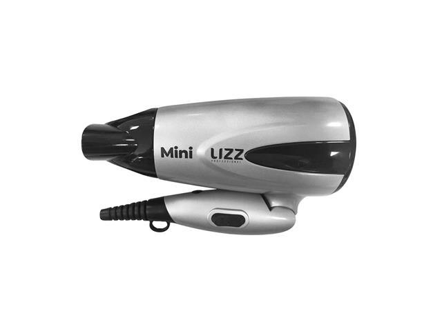 Mini Secador de Cabelo Lizz Dobrável Prata Bivolt - 1