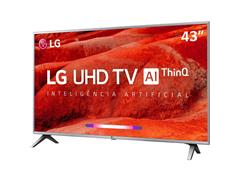 "Smart TV LED 43"" LG UHD 4K ThinQ AI TV HDR WebOS 4.5 Wi-Fi 4HDMI 2USB - 3"