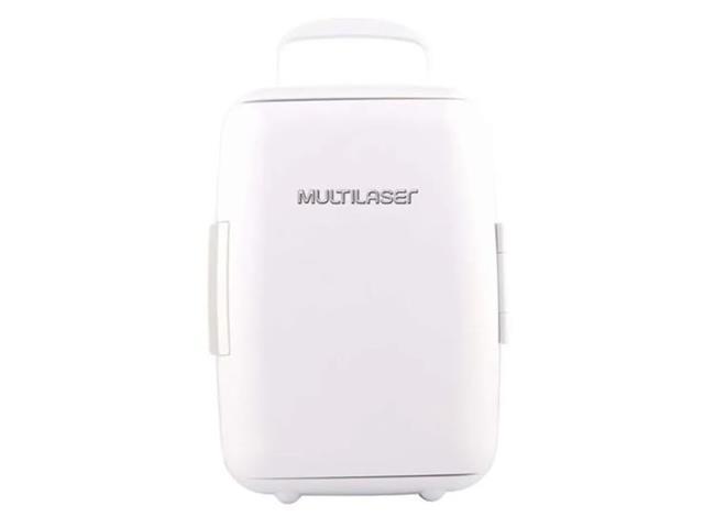 Mini Geladeira Portátil Multilaser Branca 6 Litros Trivolt 12/110/220V - 1