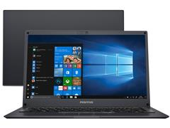 "Notebook Positivo Motion Q232B Windows 10 QuadCore 14"" 32GB 4GB RAM"