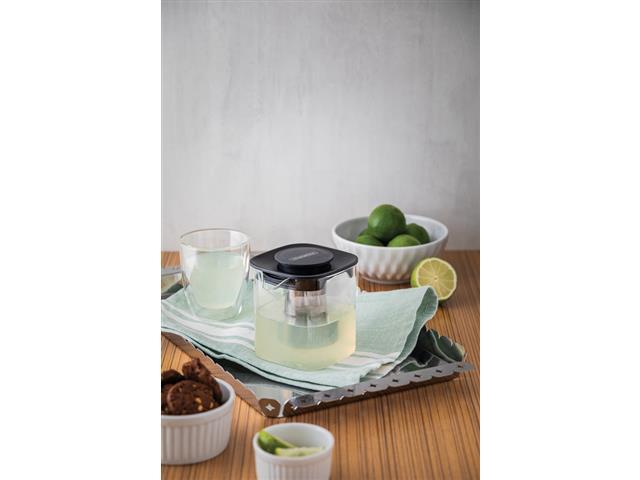 Conjunto de Xícaras para Chá e Café Tramontina em Vidro 2 Peças - 3