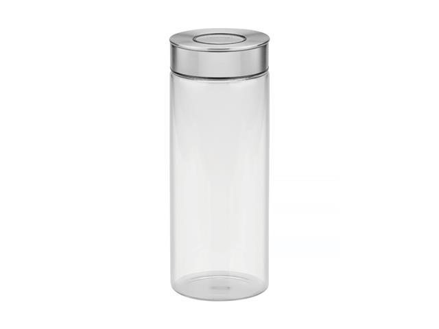 Pote de Vidro Tramontina Purezza com Tampa de Aço Inox 10cm 1,8 Litros
