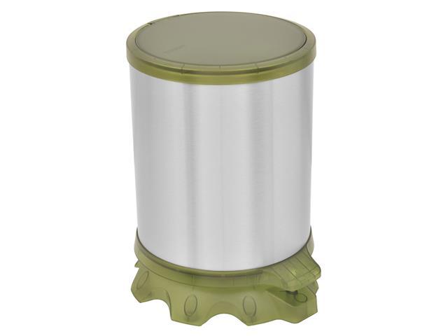 Lixeira Inox Tramontina Sofie Green com Pedal 5 Litros