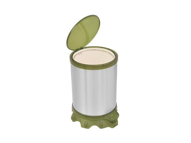 Lixeira Inox Tramontina Sofie Green com Pedal 5 Litros - 2