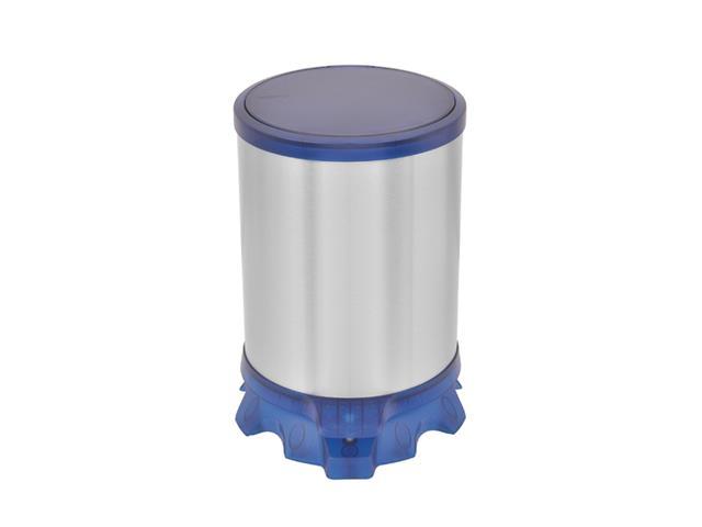 Lixeira Inox Tramontina Sofie Blue com Pedal 5 Litros - 1