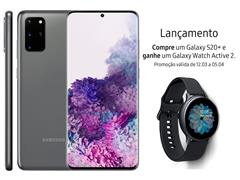 """Resgate no Lançamento 3 Samsung Galaxy S20+ Cinza e GANHE + 1 TV 43"""" - 1"""