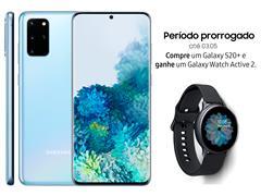 """Resgate no Lançamento 3 Samsung Galaxy S20+ Azul e GANHE + 1 TV 43"""" - 1"""