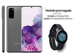 """Resgate no Lançamento 2 Samsung Galaxy S20 Cinza e GANHE + 1 TV 32"""" - 1"""