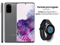 """Resgate no Lançamento 2 Samsung Galaxy S20+ Cinza e GANHE + 1 TV 32"""" - 1"""