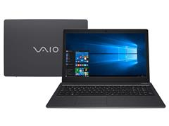 "Notebook VAIO® Fit 15S Core i3 7ª Geração 4GB 1TB HD 15,6""Win10 Cinza"