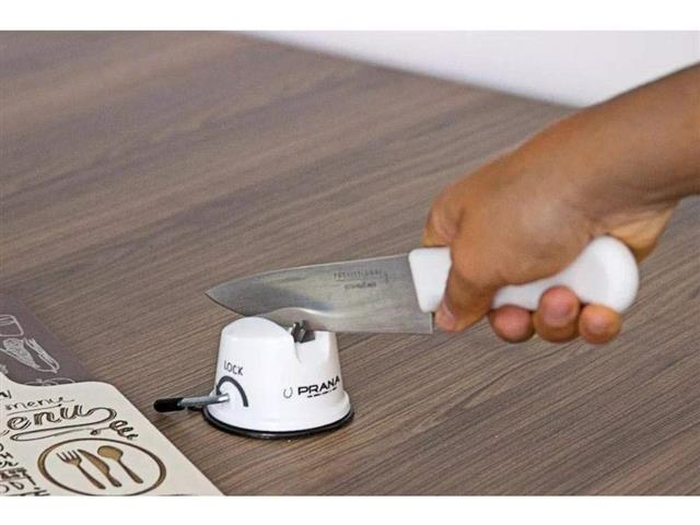 Afiador de Faca Prana Branco - 3