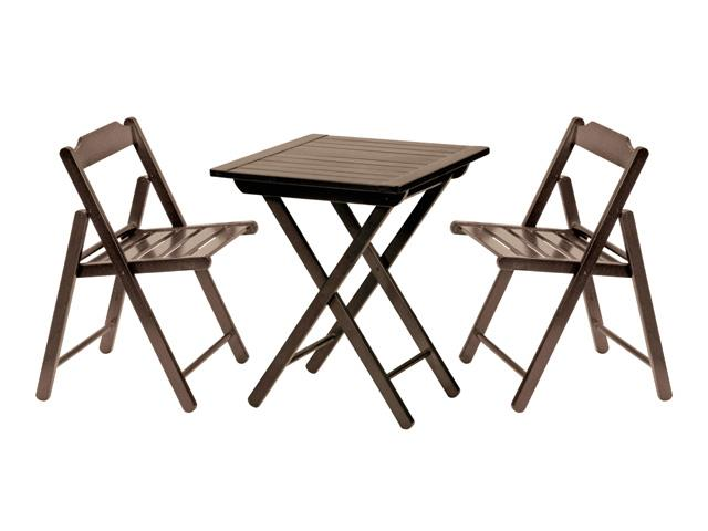 Conjunto Aconchego Tramontina 1 Mesa + 2 Cadeiras