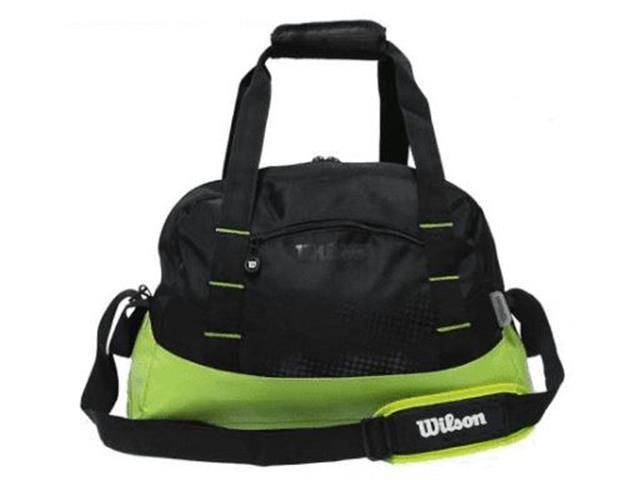 Bolsa Wilson Trainning IS13930B Preto e Verde