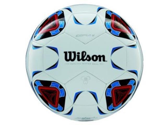 Bola de Futebol Wilson Copia II SB Branco e Azul