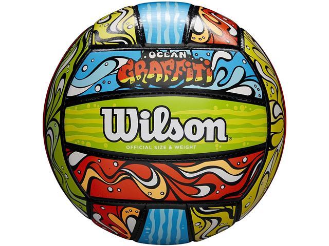 Bola de Vôlei Wilson Ocean Graffiti