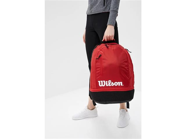 Mochila Esportiva Wilson Team Collection Vermelha - 2