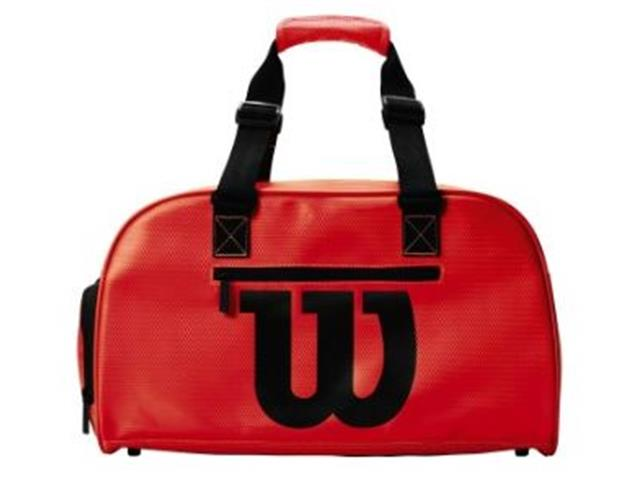 Bolsa Esportiva Wilson Duffel Pequena Vermelha - 2