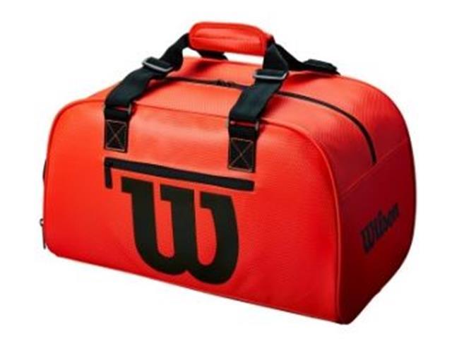 Bolsa Esportiva Wilson Duffel Pequena Vermelha