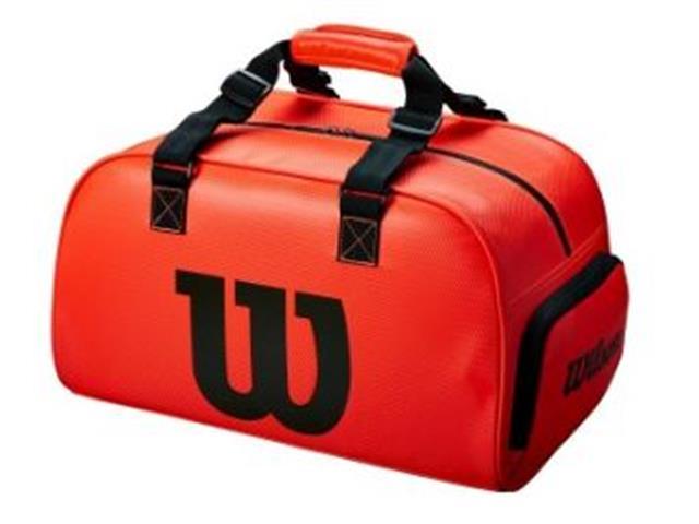 Bolsa Esportiva Wilson Duffel Pequena Vermelha - 1