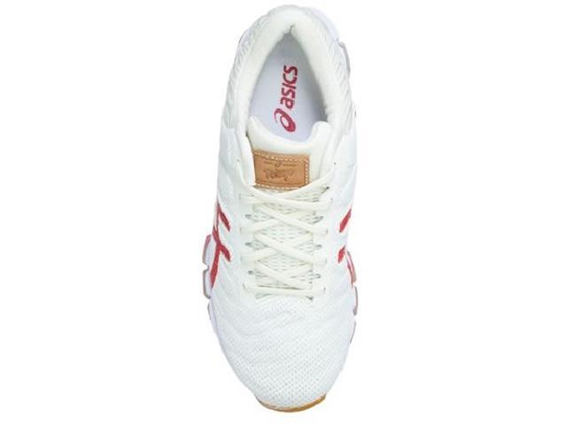 Tênis Asics Gel-Quantum 360 5  Cream/Classic Red Feminino - 4