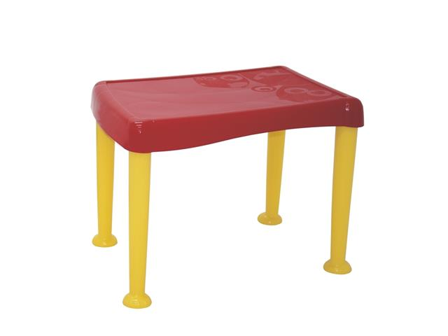 Mesa Infantil Tramontina Monster Vermelho e Amarelo