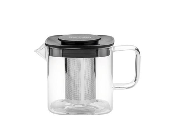 Bule para Chá Tramontina em Vidro e Aço Inox com Infusor 600ML