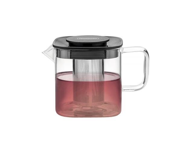 Bule para Chá Tramontina em Vidro e Aço Inox com Infusor 600ML - 1