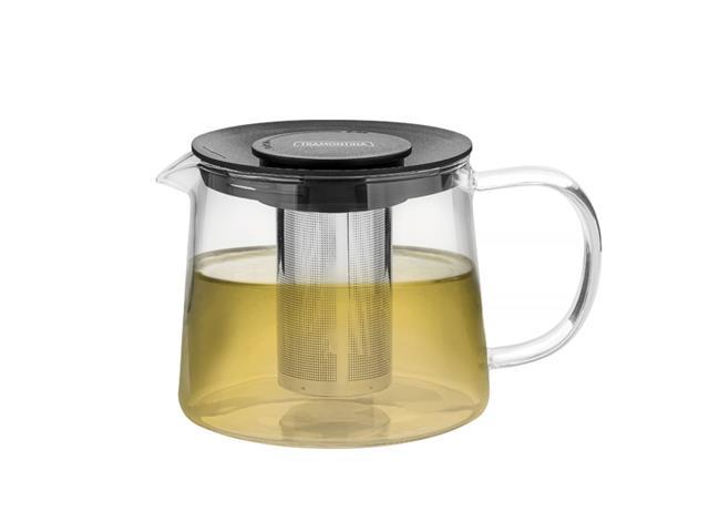 Bule para Chá Tramontina em Vidro e Aço Inox com Infusor 900ML - 1
