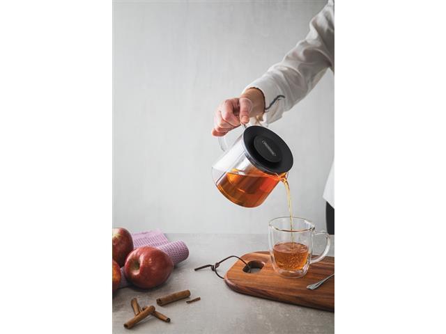 Bule para Chá Tramontina em Vidro e Aço Inox com Infusor 900ML - 3