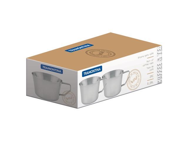 Conjunto de Xícaras para Chá e Café Tramontina 2 Peças - 1