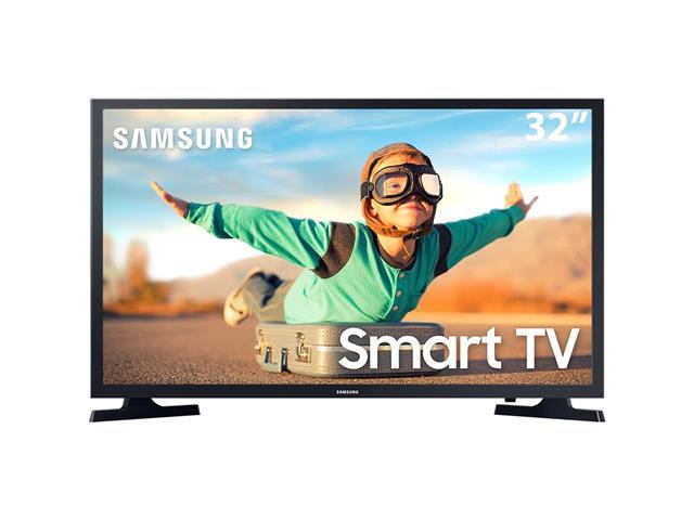 "Smart TV LED 32"" Samsung HD Tizen Conv.TV Digital HDR 2HDMI 1USB Wi-Fi"