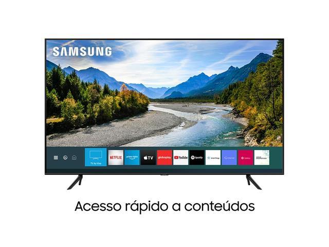 "Smart TV QLED 55"" Samsung Pontos Quânticos UHD 4K HDR 3HDMI Wi-Fi Q60T - 1"