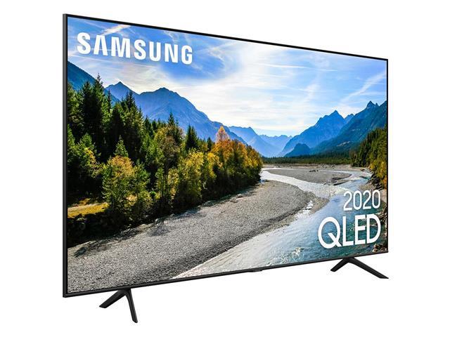 "Smart TV QLED 55"" Samsung Pontos Quânticos UHD 4K HDR 3HDMI Wi-Fi Q60T - 2"