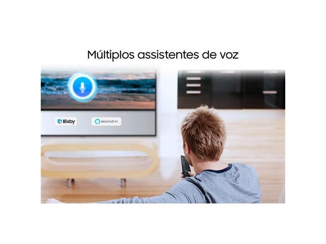 "Smart TV QLED 55"" Samsung Pontos Quânticos UHD 4K HDR 3HDMI Wi-Fi Q60T - 6"