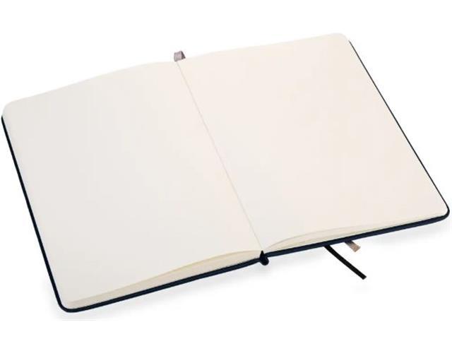 Caderno de Anotações Vivara Sem Linhas Médio Marinho - 2