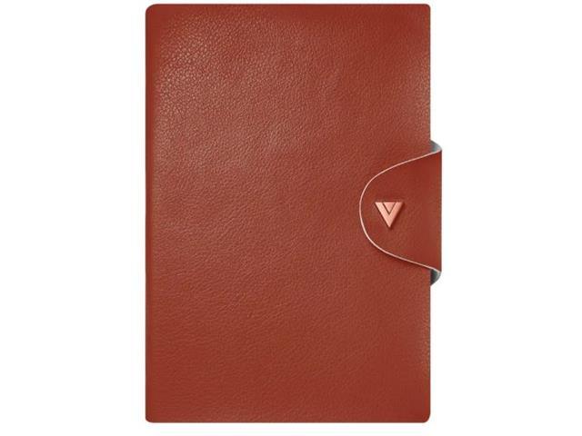 Caderno de Anotações Vivara Sem Linhas Médio Cereja