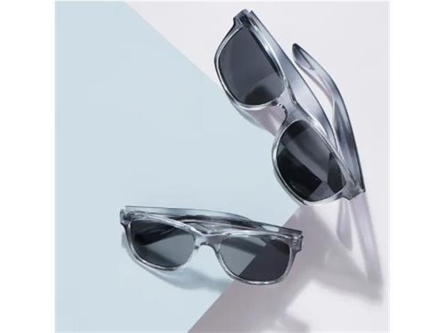 Óculos de Sol Infantil Vivara Quadrado em Acetato Cinza Azulado Filho - 4