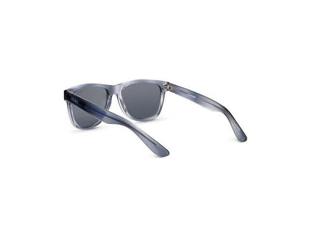 Óculos de Sol Infantil Vivara Quadrado em Acetato Cinza Azulado Filho - 2
