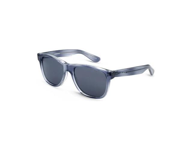 Óculos de Sol Infantil Vivara Quadrado em Acetato Cinza Azulado Filho - 1