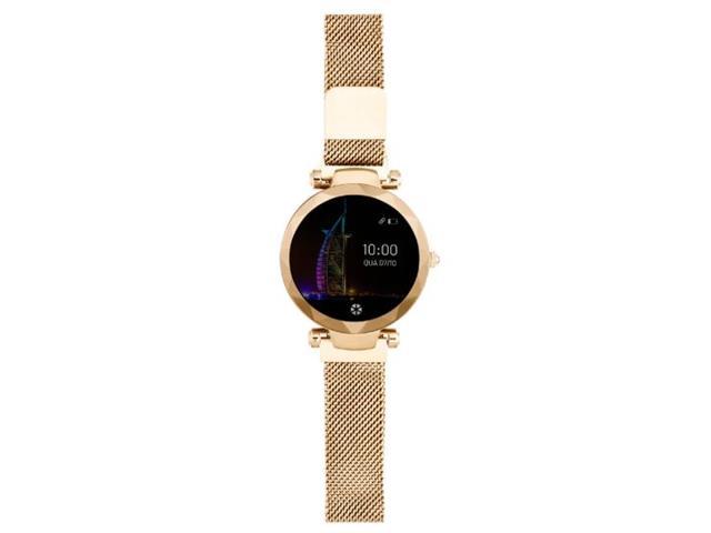 Relógio Smartwatch Atrio Dubai Android/IOS Dourado - 1