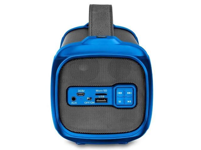 Caixa de Som Bluetooth Multilasr Bazooka 70W - 4