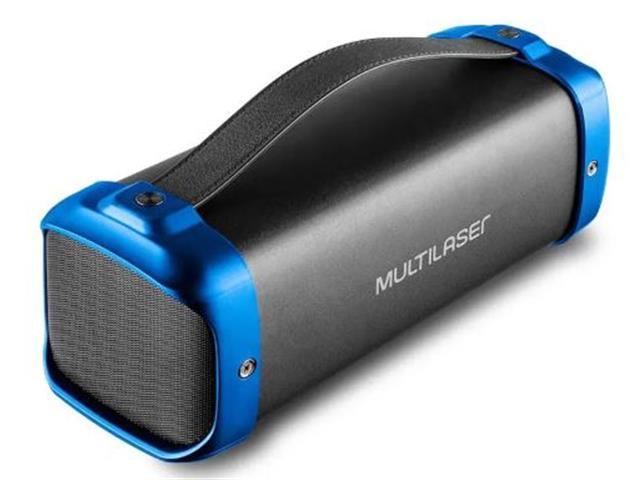 Caixa de Som Bluetooth Multilasr Bazooka 70W - 2