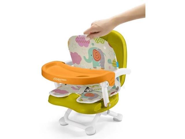 Cadeira de Alimentação Portátil Multikids Baby Animais - 2
